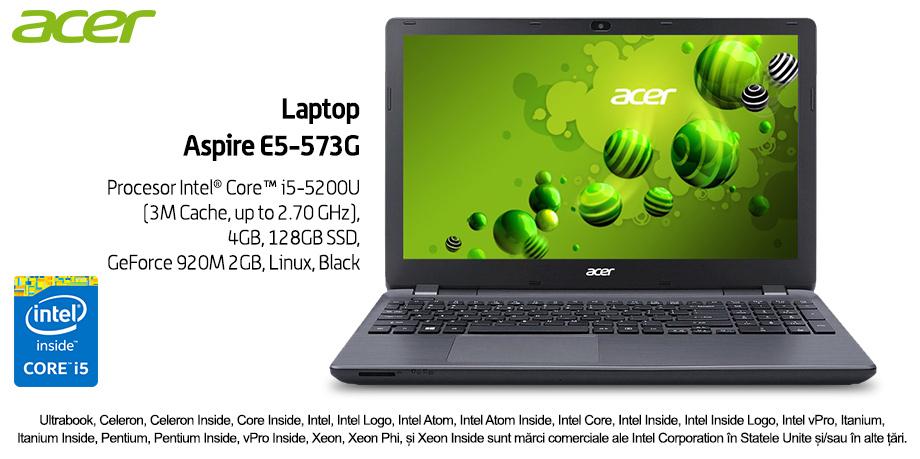 Performanta la superlativ cu Acer Aspire E5-573G-56WX