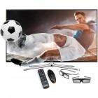 Samsung Smart TV 48H6400 Seria H6400 121cm negru Full HD 3D contine 2 perechi de ochelari 3D