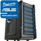 Gaming Nocturne V8 powered by ASUS, AMD FX-6300, 8GB DDR3, 1TB HDD + 120GB SSD, R7 265 DirectCU II, Placa sunet ASUS Xonar, Wi-Fi