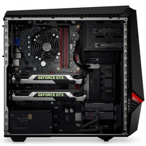 Sistem brand Lenovo IdeaCentre Y900, Procesor Intel® Core™ i7-6700K 4.0GHz Skylake, 8GB DDR4, 2TB + 8GB SSH, GeForce GTX 970 4GB, Win 10 Home