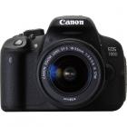 Canon EOS 700D negru + obiectiv EF-S 18-55mm f/3.5-5.6 IS STM