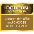 Bonus Radeon Gold Reward - 3 jocuri gratuite la alegere - electronic