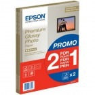 Hartie Epson Premium Photo Glossy A4 2x15 coli