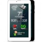 Allview Viva i7G 3G, 7 inch MultiTouch, Intel SoPHIA 3G-R 1.0GHz Quad Core, 1GB RAM, 8GB flash, Wi-Fi, Bluetooth, GPS, 3G, Android 5.1, White