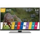 Televizor LED LG Smart TV 55LF652V Seria LF652V 138cm argintiu Full HD 3D contine 2 perechi de ochelari 3D