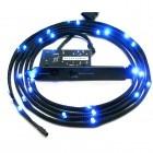 NZXT Sleeved LED Lighting Kit Blue