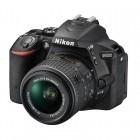 Nikon D5500 negru + obiectiv AF-S DX Nikkor 18-55mm f/3.5-5.6G VR II