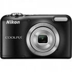 Nikon COOLPIX L29 Negru + Incarcator + 2 acumulatori + Card 4GB + Husa