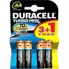 Duracell Turbo Max AA LR06 3+1 gratis