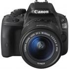 Canon EOS 100D negru + obiectiv EF-S 18-55mm f/3.5-5.6 IS STM