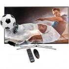 Televizor LED Samsung Smart TV 32H6400 Seria H6400 80cm negru Full HD 3D Screen Mirroring
