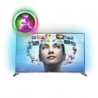 Televizor LED Philips Smart TV 55PFS8209/12 Seria PFS8209 139cm argintiu Full HD 3D Ambilight contine 2 perechi de ochelari 3D
