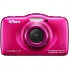 Nikon COOLPIX S32 Roz + card 8GB + Rucsac