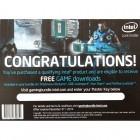 Bonus Intel Gaming Bundle - cupon