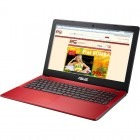 ASUS 15.6'' X550CA-XX181D, Procesor Intel® Celeron® 1007U 1.5GHz, 4GB, 500GB, GMA HD, Red