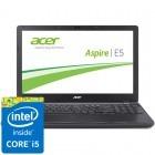 Acer 15.6'' Aspire E5-572G-5828, HD, Procesor Intel® Core™ i5-4210M (3M Cache, up to 3.20 GHz), 4GB, 1TB, GeForce 840M 2GB, Linux, Black