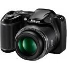 Nikon COOLPIX L340 Negru + Card 8Gb + Geanta + Incarcator cu 4 acumulatori