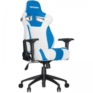 Scaun gaming Vertagear SL4000, alb albastru