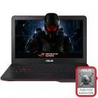ASUS 17.3'' ROG G771JW, FHD, Procesor Intel® Core™ i7-4720HQ 2.6GHz Haswell, 8GB, 1TB, GeForce GTX 960M 4GB, Black
