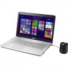 "ASUS 17.3"" N751JK, FHD IPS, Procesor Intel® Core™ i7-4710HQ 2.5GHz Haswell, 8GB, 1TB, GeForce GTX 850M 4GB, Grey"