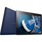 Tableta Lenovo Tab 2 A10-30, 10.1 inch IPS MultiTouch, Cortex A7 Qualcomm 210 1.30GHz Quad Core, 1GB RAM, 16GB flash, Wi-Fi, Bluetooth, GPS, Android 5.1, Blue