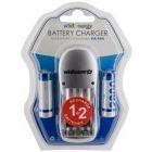 Incarcator Whitenergy Incarcator baterii 2x AA/AAA + AA/R6 2800mAh Blister 2buc