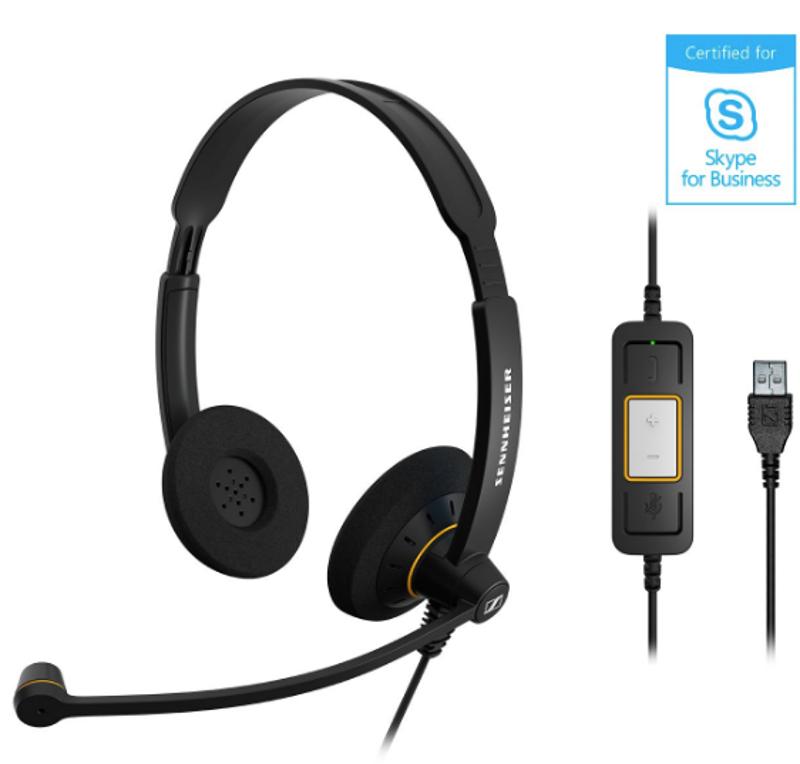 Casca Office/Call Center Sennheiser Over-Head SC 60 USB ML