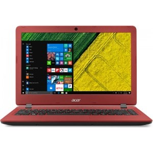 Notebook / Laptop Acer 13.3'' Aspire ES1-332, HD, Procesor Intel® Celeron® N3450 (2M Cache, up to 2.2 GHz), 4GB, 64GB eMMC, GMA HD 500, Win 10 Home, Red