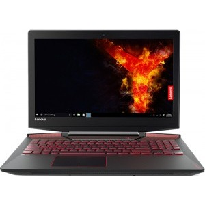 Notebook / Laptop Lenovo Gaming 15.6'' Legion Y720, FHD IPS, Procesor Intel® Core™ i7-7700HQ (6M Cache, up to 3.80 GHz), 16GB DDR4, 2TB, GeForce GTX 1060 6GB, FreeDos, Black, RGB Backlit