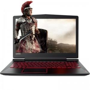 Notebook / Laptop Lenovo Gaming 15.6'' Legion Y520, FHD IPS, Procesor Intel® Core™ i7-7700HQ (6M Cache, up to 3.80 GHz), 8GB DDR4, 2TB, GeForce GTX 1050 Ti 4GB, FreeDos, Black, Backlit