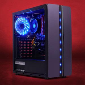 Sistem Gaming Corvus, AMD Ryzen 3 2200G 3 5GHz, 4 nuclee, 8GB DDR4, 1TB  HDD, AMD Radeon™ Vega 8