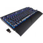 Corsair K63 Wireless Blue LED - Cherry MX Red - Layout US Mecanica