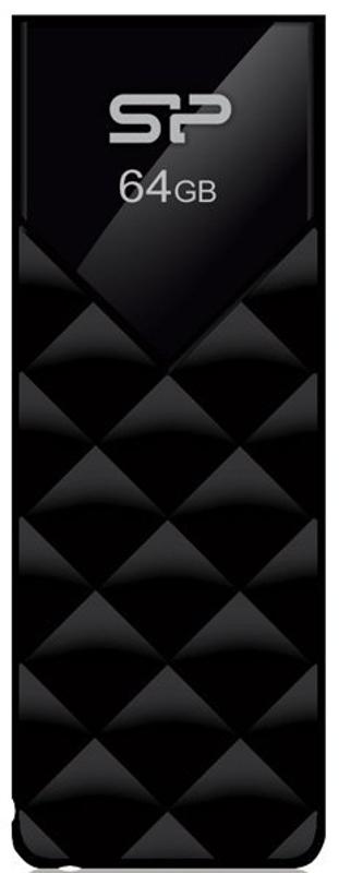 Memorie externa Silicon-Power Ultima U03 64GB USB 2.0 black