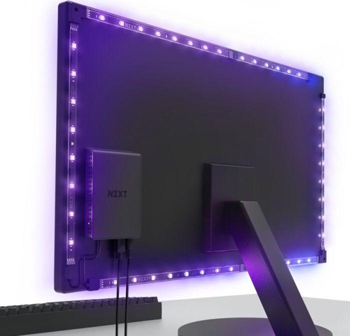 "NZXT HUE 2 Ambient RGB Lighting Kit V2 (21""-25"", 34""-35"" UltraWide)"
