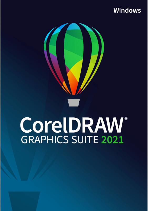 Corel CorelDRAW Graphics Suite 2021, 1 PC, Licenta perpetua, Enterprise, subscriptie 1 an pentru CorelSure Maintenance (1-4)