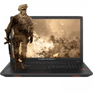 Notebook / Laptop ASUS Gaming 17.3 ROG GL753VD, FHD, Procesor Intel® Core™ i7-7700HQ (6M Cache, up to 3.80 GHz), 8GB DDR4, 1TB, GeForce GTX 1050 4GB, Endless OS