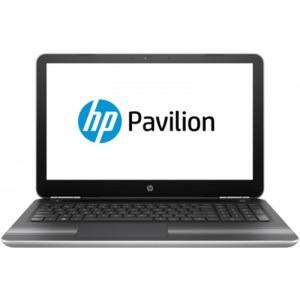 Notebook / Laptop HP 15.6'' Pavilion 15-au005nq, HD, Procesor Intel® Core™ i7-6500U (4M Cache, up to 3.10 GHz), 8GB DDR4, 256GB SSD, GeForce 940MX 4GB, FreeDos, Silver