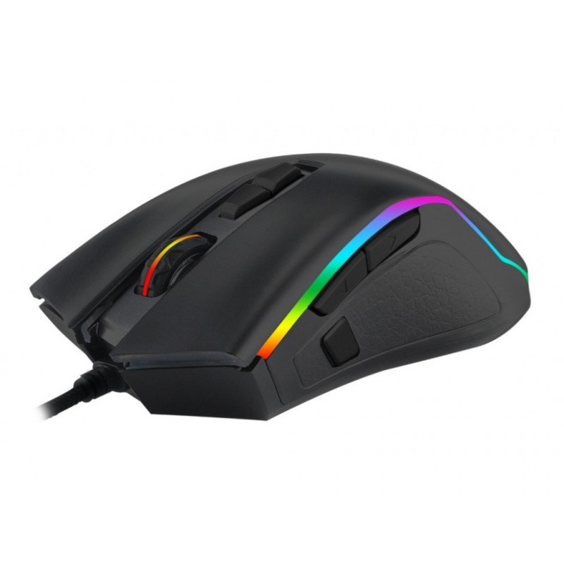 Pachet gaming T-DAGGER, tastatura mecanica Frigate RGB + mouse gaming Second Lieutenant RGB 7