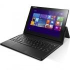 Tableta Lenovo IdeaTab Miix 3, 10.1 inch, Multitouch, Atom Z3735F 1.33GHz Quad Core, 2GB RAM, 64GB flash, Wi-Fi, Bluetooth, Win 8.1, black + Folio Keyboard