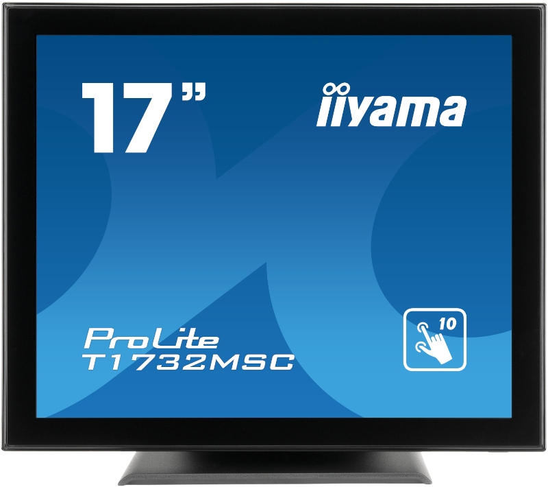 Monitor Touchscreen IIyama T1732MSC-B5X 17 inch 5 ms Negru 60 Hz