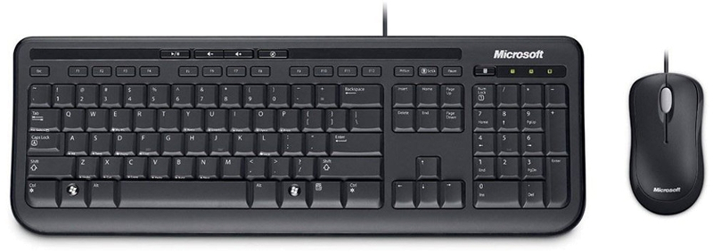 Kit tastatura + mouse Microsoft Wired 600 Business