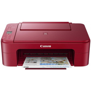 Canon PIXMA TS3352 Red, InkJet, Color, Format A4, WiFi