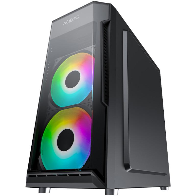 Sistem Gaming Green, Intel Core I5-9400 2.9GHz, 16GB DDR4, SSD 240GB, HDD 1TB, GTX 1050 Ti, iluminare Rainbow, KIT Gaming(Tastatura + Mouse + Mousepad) 1