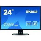 Monitor LED IIyama ProLite X2481HS-B1 23.6 inch 6ms black